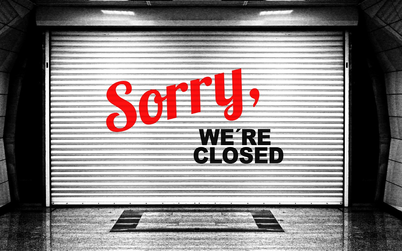 sorry-closed-college